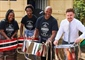 Youth band marches on thanks to container donation from South...